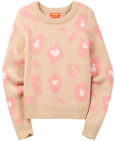 Joe Fresh Leopard Print Knit Sweater (Big Girls)