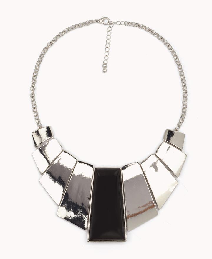 Forever 21 Fringe Bib Necklace