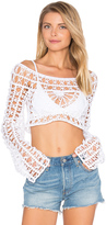 Anna Kosturova Dreamcatcher Top