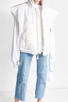 Vetements Oversized Puffer Vest with Hood