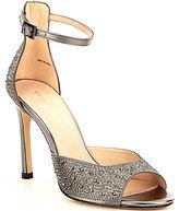 Pelle Moda Erica Rhinestone-Embellished Dress Sandals
