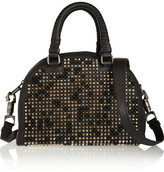 Christian Louboutin Panettone small spiked leather tote