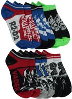 "Star Wars Classic Characters"" 6-Pack No-Show Socks"