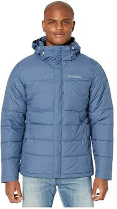 Columbia Ridgeview Peaktm Hooded Jacket (Dark Mountain/Collegiate Navy) Men's Coat