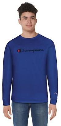 Champion Classic Cotton Long Sleeve T-Shirt - Surf The Web