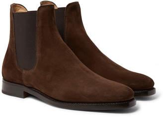 Ralph Lauren Purple Label Suede Chelsea Boots