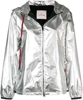 Moncler Mikael silver jacket