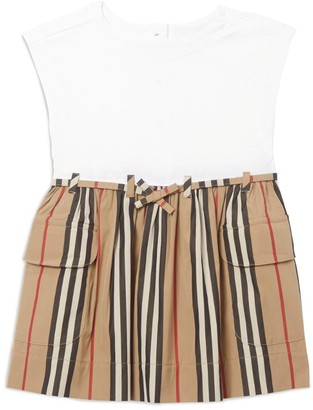 Burberry Kids Icon Stripe Dress