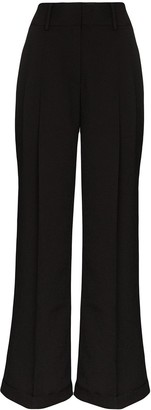 Xu Zhi High-Rise Wide-Leg Trousers