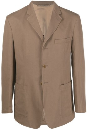 Lemaire Patch-Pocket Linen-Blend Jacket