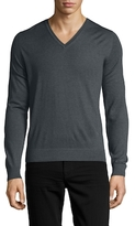 Isaia Cashmere V-Neck Sweater