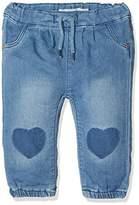 Name It Baby Girls' Nitarona Swe Reg/r Dnm Pant F Nb Jeans,80