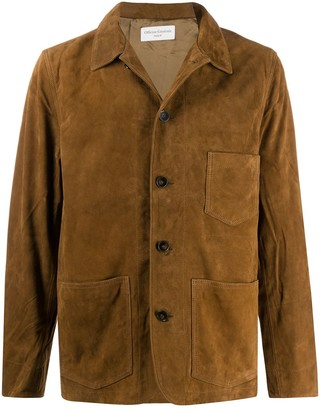 Officine Generale Button-Up Fitted Jacket