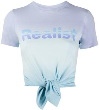 Paco Rabanne tie dye T-shirt