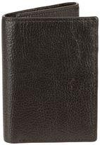 Bill Adler Men's RFID-Blocking Leather Trifold Wallet