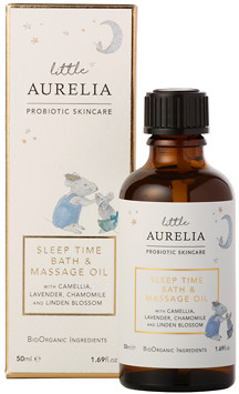 Aurelia Probiotic Skincare Little Aurelia Sleep Time Bath & Massage Oil 50ml