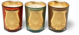 Cire Trudon Gabriel, Gaspard And Bethléem Scented Candle Set, 3 X 100g - one size