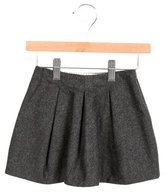 Bonpoint Girls' Wool A-Line Skirt
