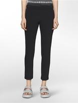 Calvin Klein Platinum Piper Scuba Extreme Skinny Cropped Pants