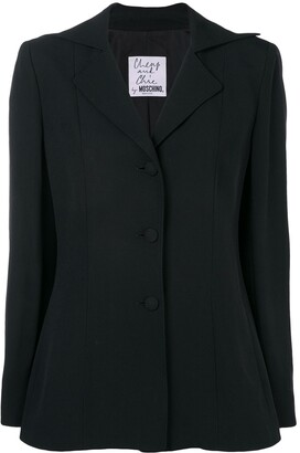 Moschino Pre-Owned Single Breasted Blazer
