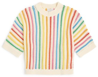 Stella McCartney Rainbow Stripe Sweater