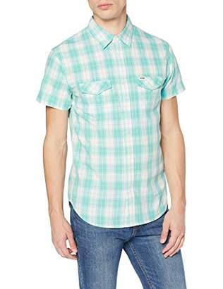 Wrangler Men's Ss Modern Western Sh Casual Shirt,Medium
