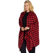 Cuddl Duds Plus Size Pajamas: Cozy Cabin Wrap