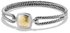 David Yurman New Albion Bracelet with Diamonds