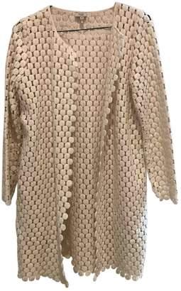 Hoss Intropia White Coat for Women