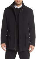 Cole Haan Wool Blend Car Coat