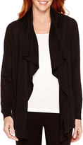 JCPenney Made For Life Long-Sleeve Flyaway Cardigan