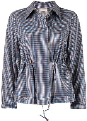 Dries Van Noten Pre-Owned Check Pattern Shirt