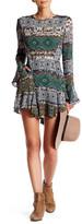 Anama Patterned Ruffle Dress
