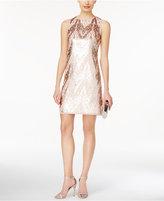 Vince Camuto Sequin Embellished A-line Dress