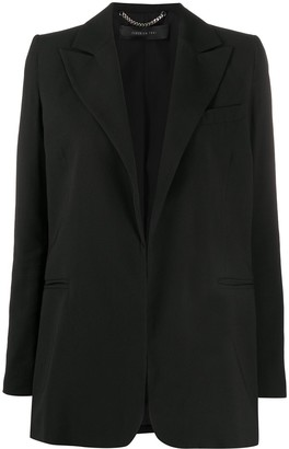 FEDERICA TOSI Structured Shoulder Single-Breasted Blazer