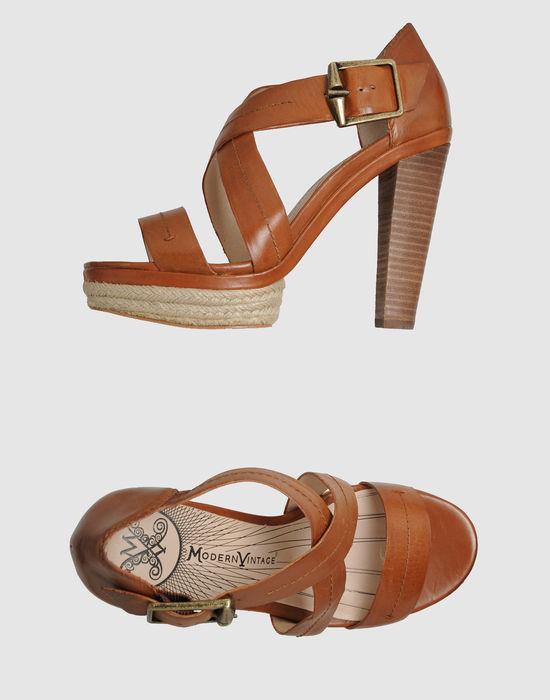 Modern Vintage Platform sandals