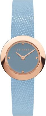 Ted Baker Women's Sereena Leather Strap Watch, 24mm