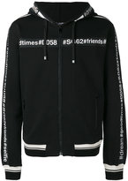 Dolce & Gabbana #goodtimes zip hoodie - men - Cotton - 50