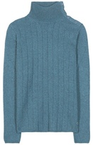 Loro Piana Dolcevita Boylston Knitted Cashmere Turtleneck Sweater