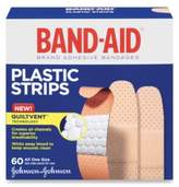 "Johnson & Johnson Johnson's® Band-Aid® Plastic 3/4"" X 3"" Inch Bandages (60 Count)"