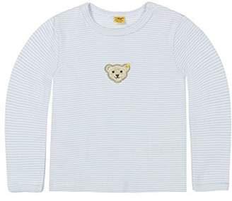 Steiff Baby 0006603 T-Shirt 1/1 Sleeves Blouse, Blue, (Size:56)
