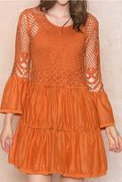 Armario De La Bella Crochet Dress
