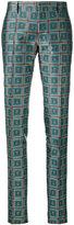 Bally geometric print trousers