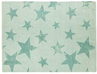 Lorena Canals Vintage Star Rug and Cushion (Jade)