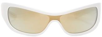 Le Specs X Adam Selman The Monster Cat-eye Sunglasses - White