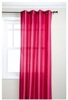 "Style Master Stylemaster Tribeca 56 x 120"" Faux Silk Grommet Panel, Fuchsia"