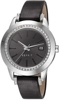 Esprit es106512001 36mm Stainless Steel Case Leather Mineral Women's Watch