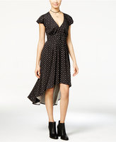 One Hart Juniors' Printed High-Low A-Line Dress, Created for Macy's