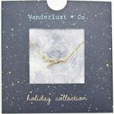 Wanderlust + Co Cancer Cosmic Necklace in
