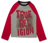 True Religion Boys' Color-Block Drip Signature Tee - Big Kid